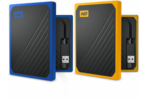 Western Digital My Passport Go 500GB MY PASSPORT GO SSD USB - WDBMCG5000ABT-WESN