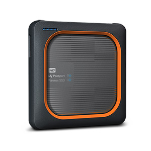Western Digital My Passport Wireless SSD 500GB MY PASSPORT WIRELESS SSD - WDBAMJ5000AGY-NESN