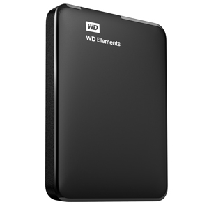 Western Digital WD Elements Portable V2 750GB WD ELEMENTS USB - WDBUZG7500ABK-WESN