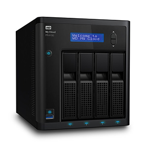Western Digital My Cloud PR4100 16TB MY CLOUD PRO SERIES PR4100 - WDBNFA0160KBK-NESN